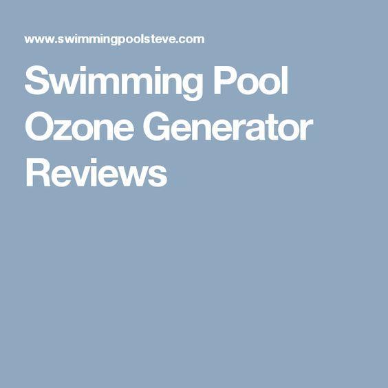 Swimming Pool Ozone Generator Reviews   pool   Swimming pool ...