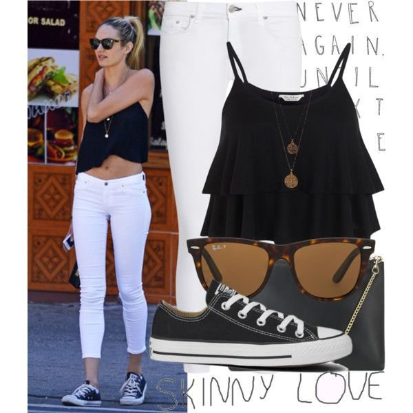 Blanco Y Negro Outfits With ConverseCasual OutfitsSummer