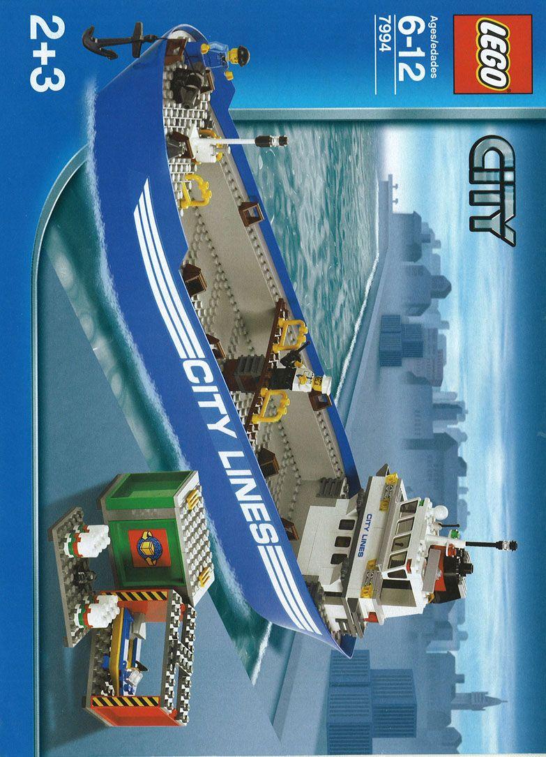 City - Cargo Sea Port [Lego 7994]