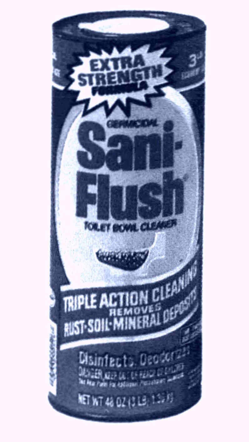 Sani Flush Toilet Bowl Cleaner Crystals