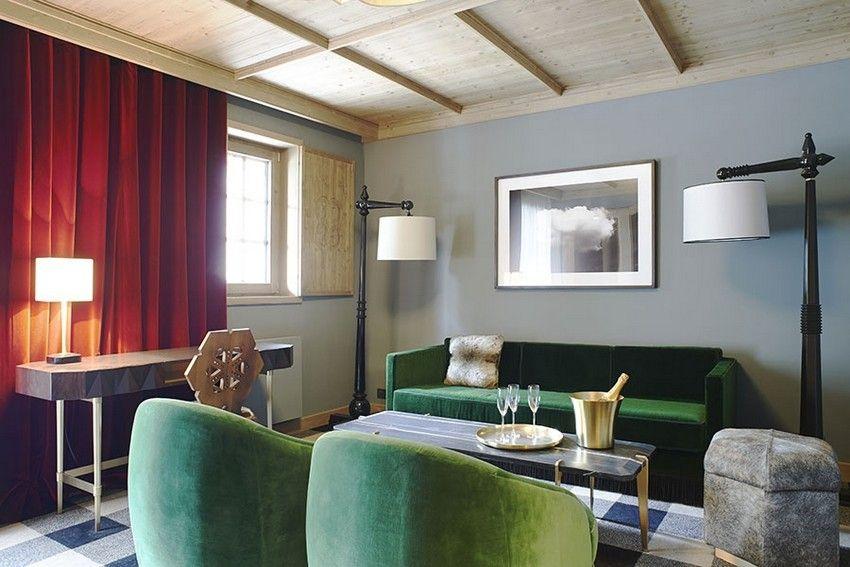 India Mahdavi beste Hotels Projekte Interior Design,Luxus Möbel - wohnzimmer luxus design