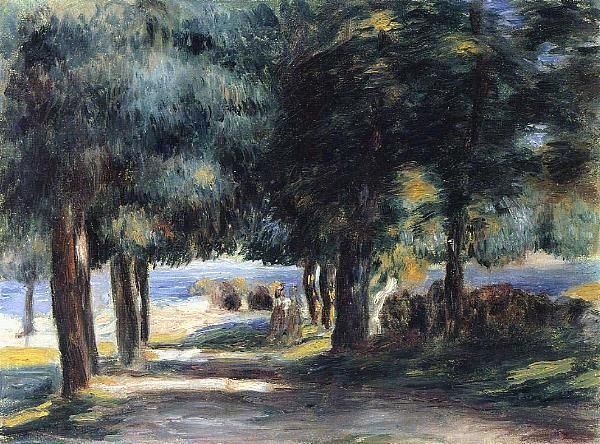 Resultado de imagem para paintings of renoir french riviera