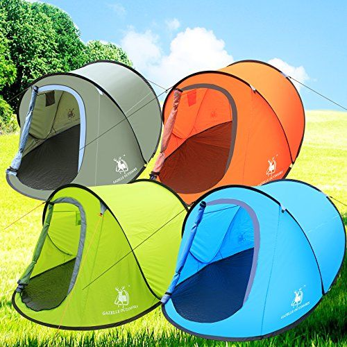 Large Pop Up C&ing Hiking Tent Automatic Instant Setup Easy Fold back Shelter Outdoor Store [  sc 1 st  Pinterest & Large Pop Up Camping Hiking Tent Automatic Instant Setup Easy Fold ...