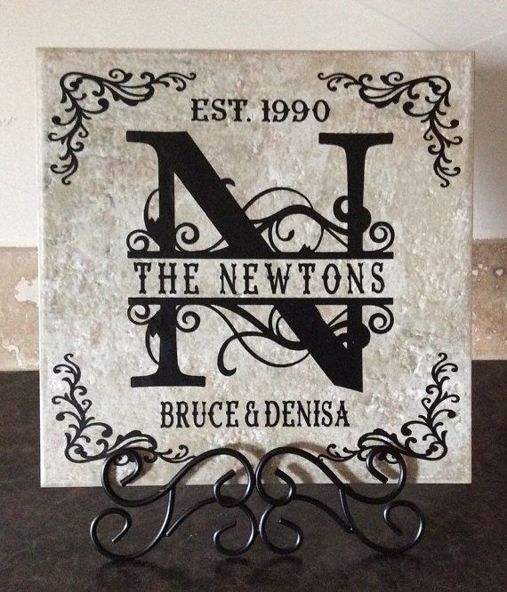 Personalized 12 x 12 Ceramic Tile | Products | Pinterest ...