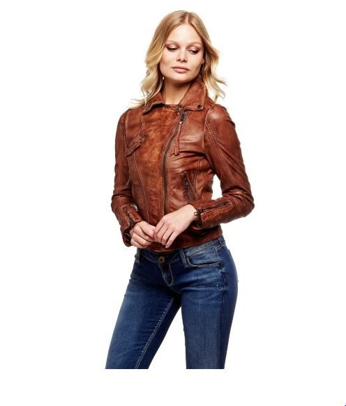 in stock a few days away get online Blouson style perfecto en cuir Guess en 2019 | GUESS ...