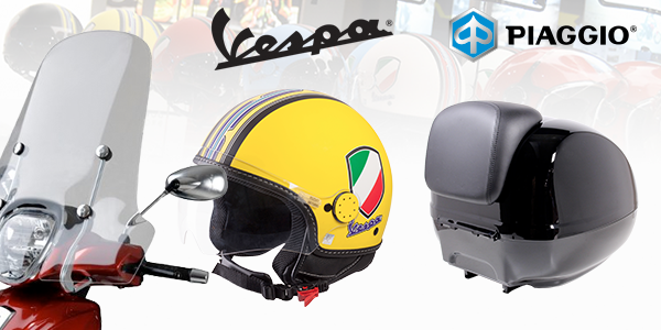 june, vespa/piaggio accessories promotion #promotion #accessories