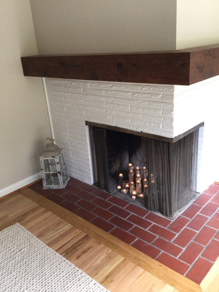 Diy rustic fireplace mantel with images rustic