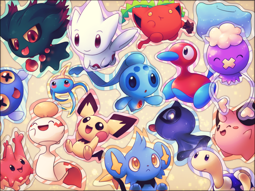 pokemon cute Super Cute Pokemon Wallpaper Kawaii