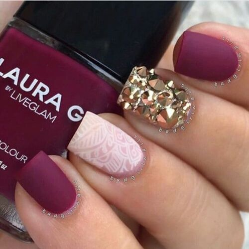 Pin by kira law on nails pinterest explore red matte nails rose gold nails and more prinsesfo Image collections