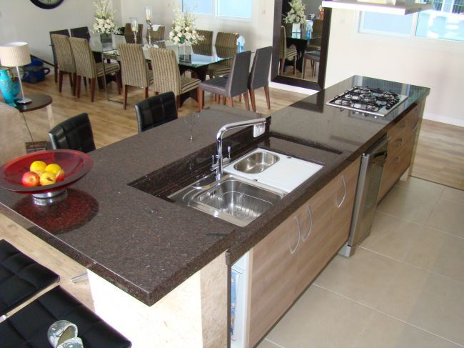 Cozinha Com Pedra Amarelo Maracuja Pesquisa Google Decoracao