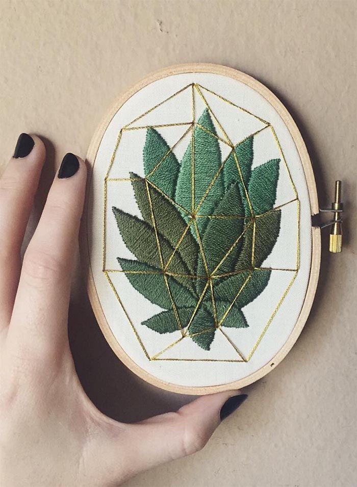 Images et techniques de broderie de tapisserie qui s'intègrent parfaitement dans l'intérieur moderne   – Dekoration – Decoration ideas – Deko ideen