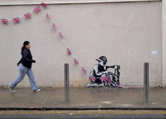 Bansky - London - 2012