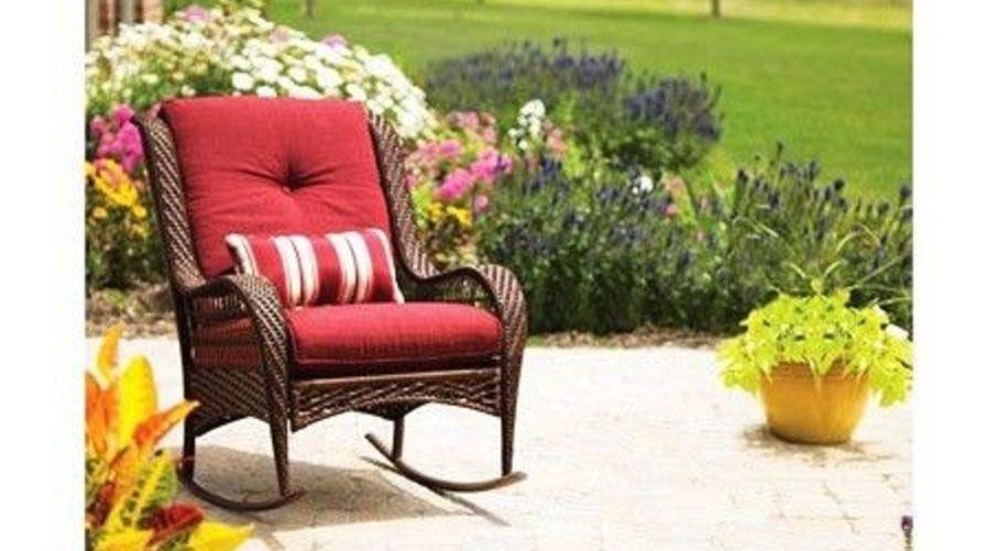 Garden Rocking Chair In 2019