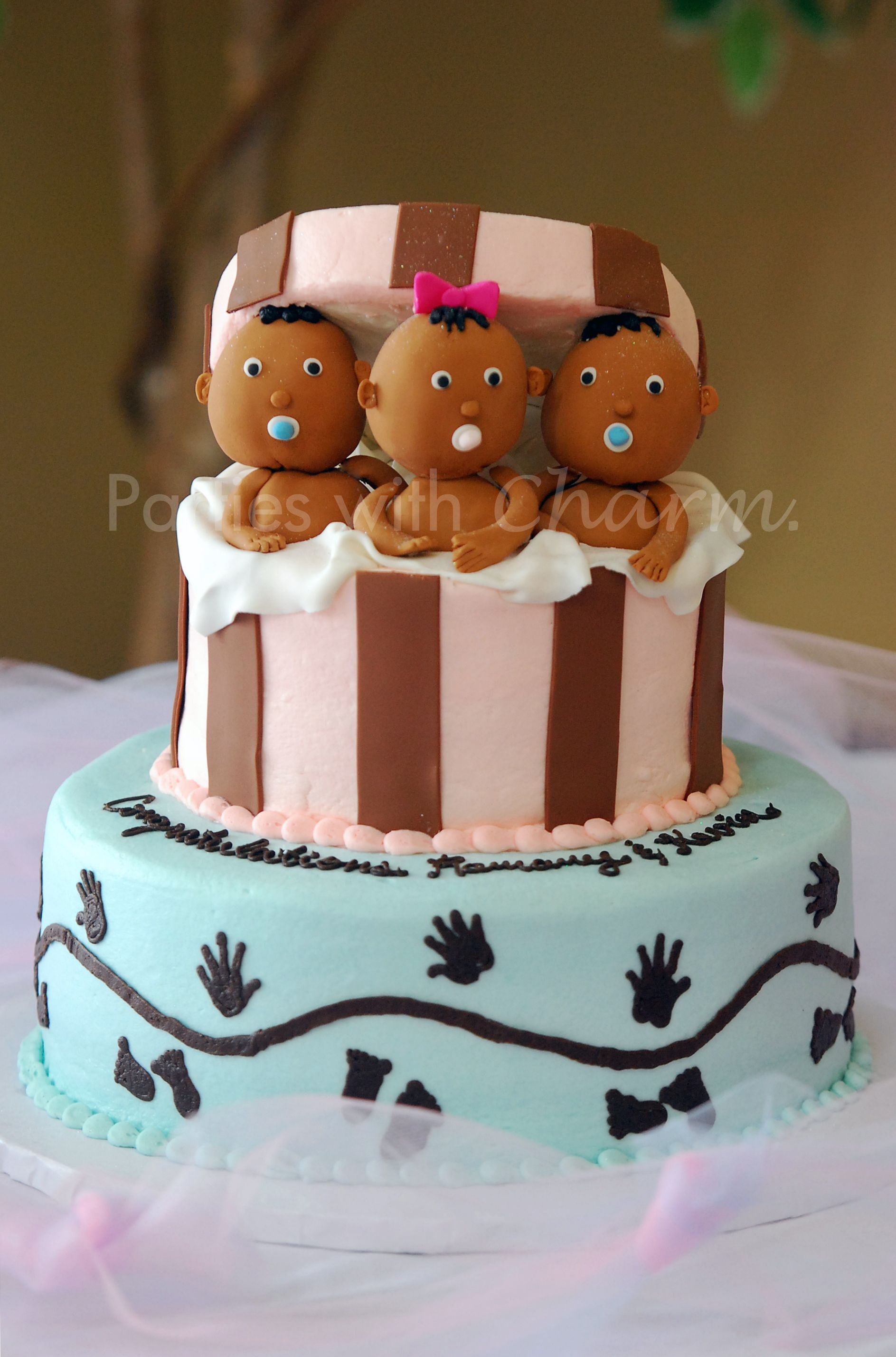 baby shower ideas for triplets