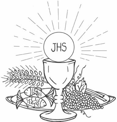 Hostia Para Colorir 3 Corpus Christi Desenhos Desenho Religioso