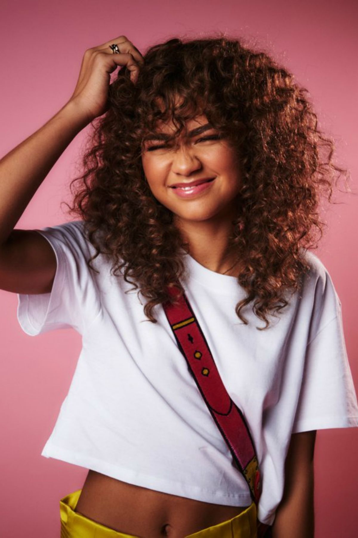 Curly Hair Suits Her Curly Hair Styles Zendaya Style Hair Styles