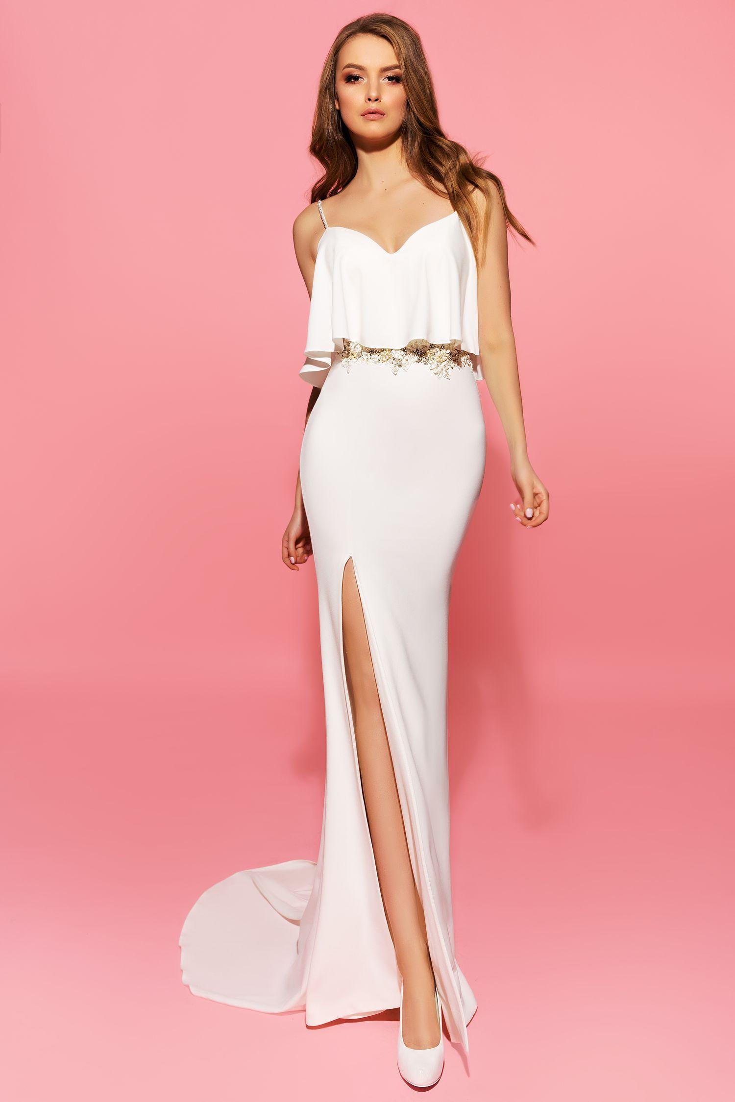 Bonito Vestido De Novia Chav Modelo - Colección de Vestidos de Boda ...