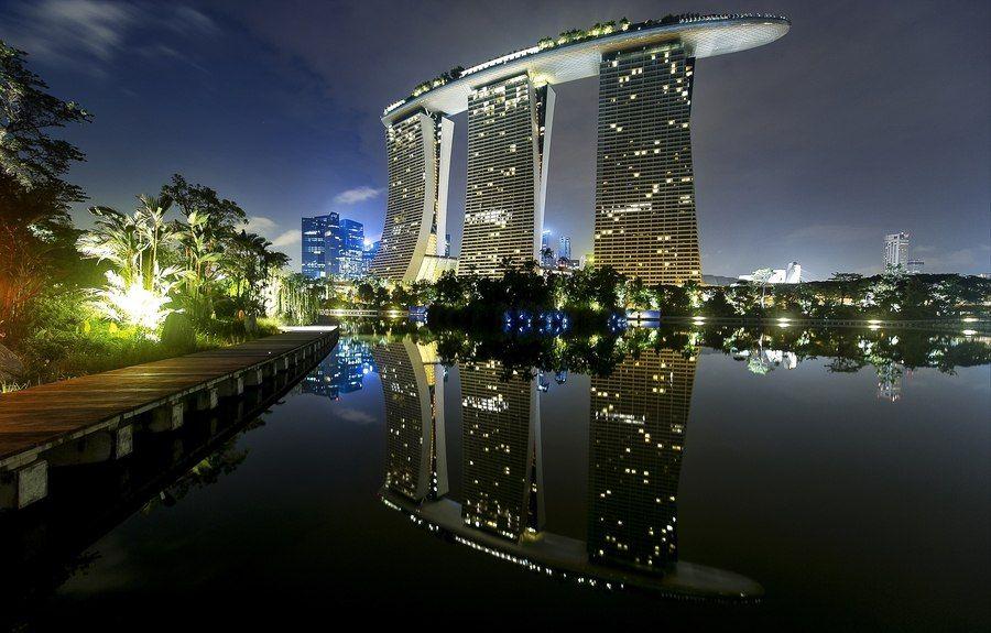 Marina Bay Sands Singapore Sands Singapore Around The World In