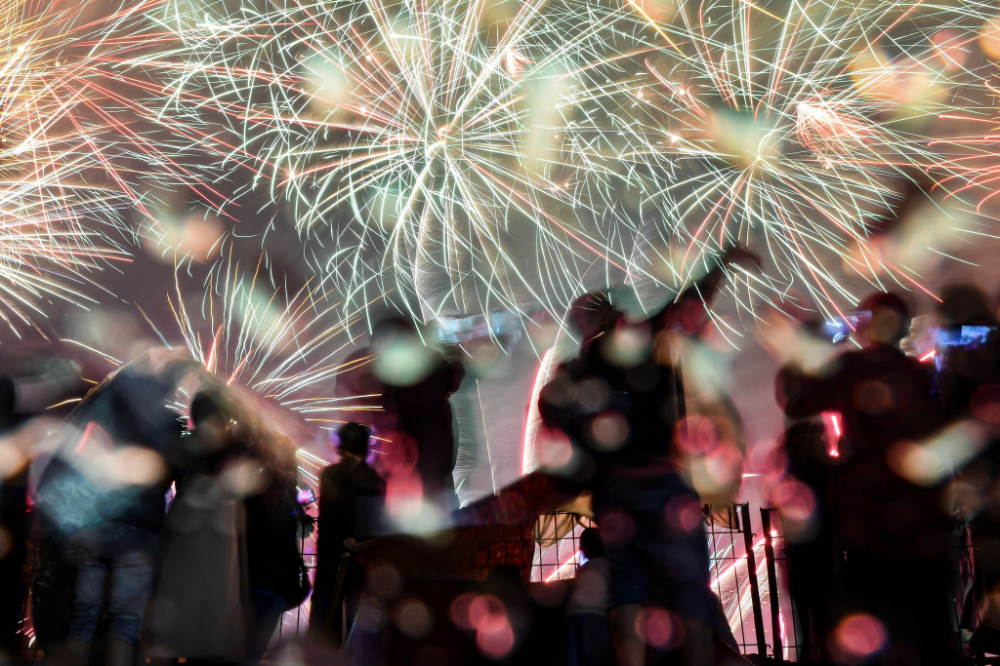 New Year's Eve 2020 Pictures From Around the World in