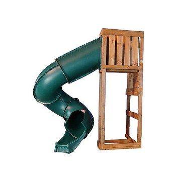 Twisting Slide Smaller Footprint Playground Slide Swing And Slide Diy Pool