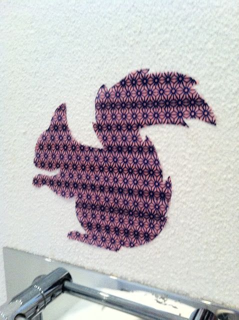 KIRKESJOV: Wall stickers af Masking Tape!