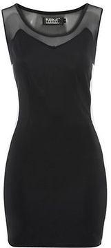 Pussycat Black Sweetheart Mini Dress on shopstyle.co.uk