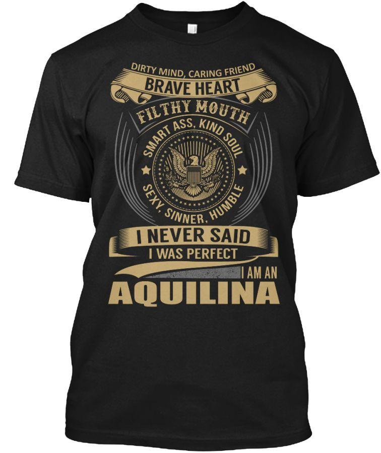 AQUILINA - I Never SaidIWas Perfect