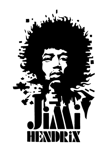 This Is The Logo Type For The Jimi Hendrix Experience It