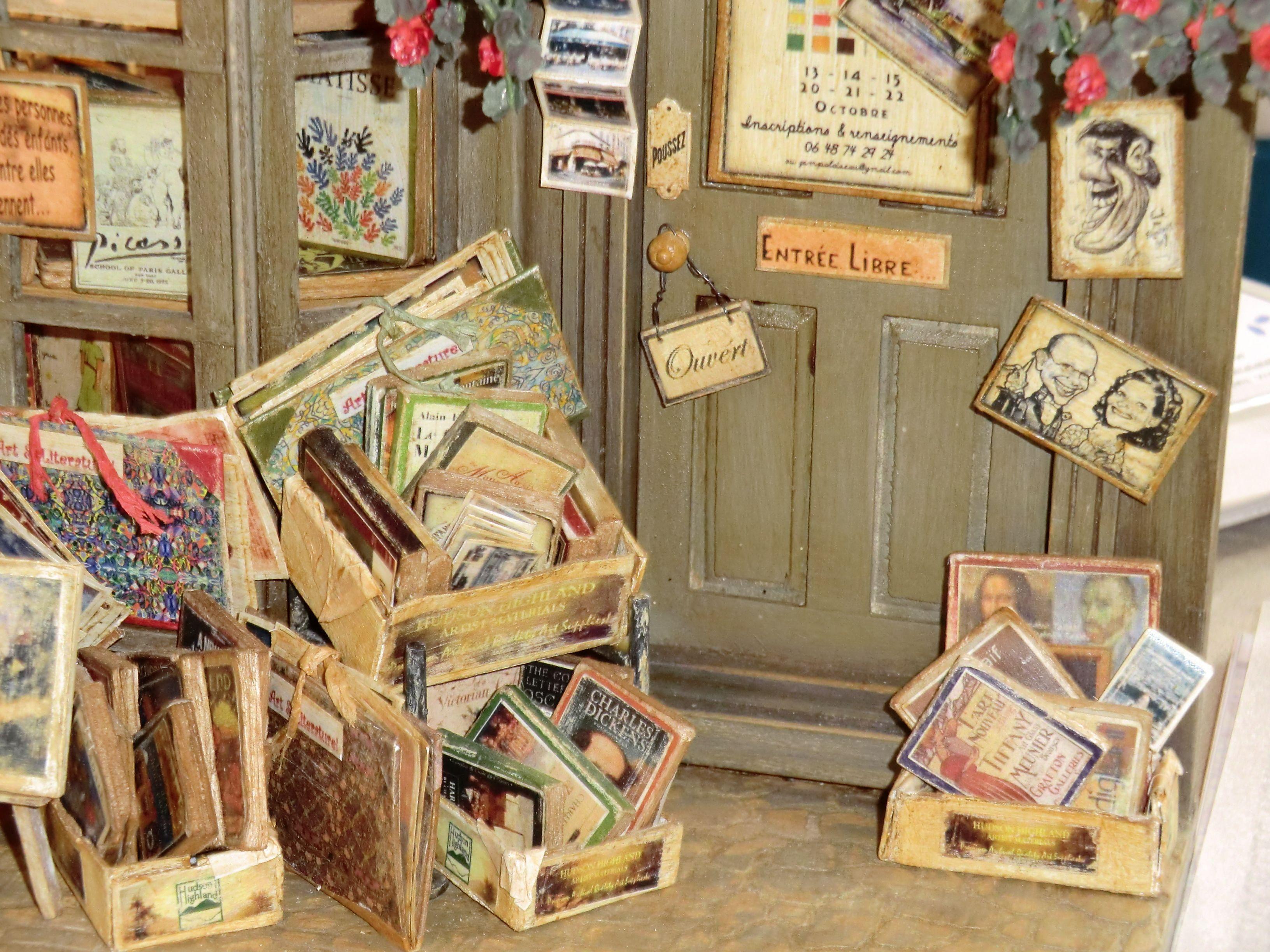 Librería en Paris