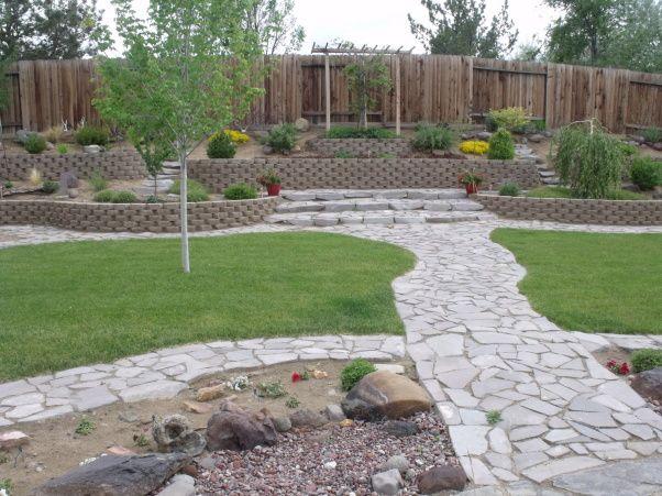 Back Yard In High Desert Backyard Landscaping Large Backyard Landscaping Desert Landscaping Backyard