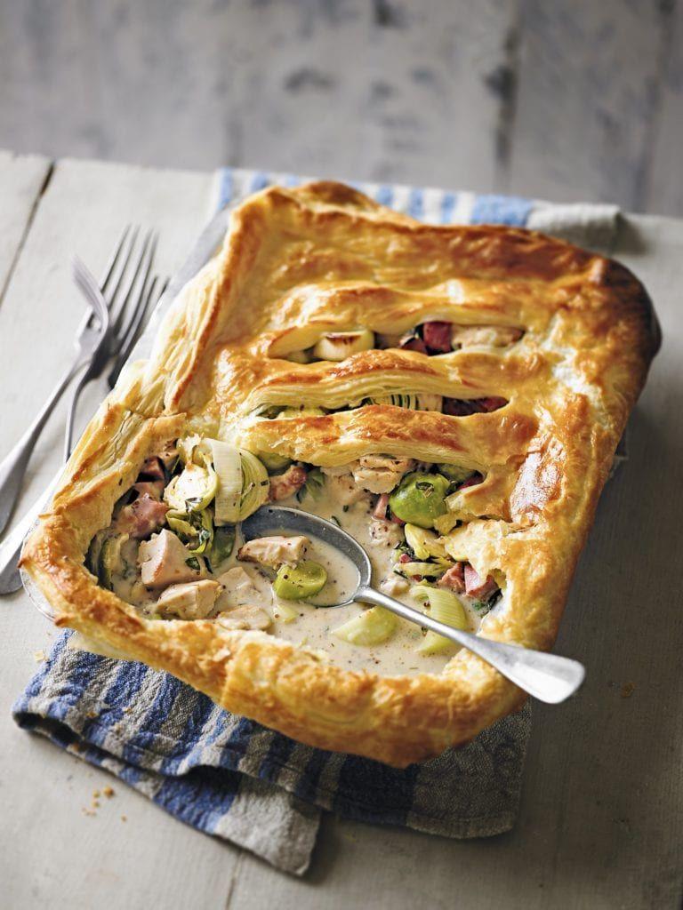 Photo of Leftover turkey recipe: Turkey, gammon & sprout pot pie – BritMums