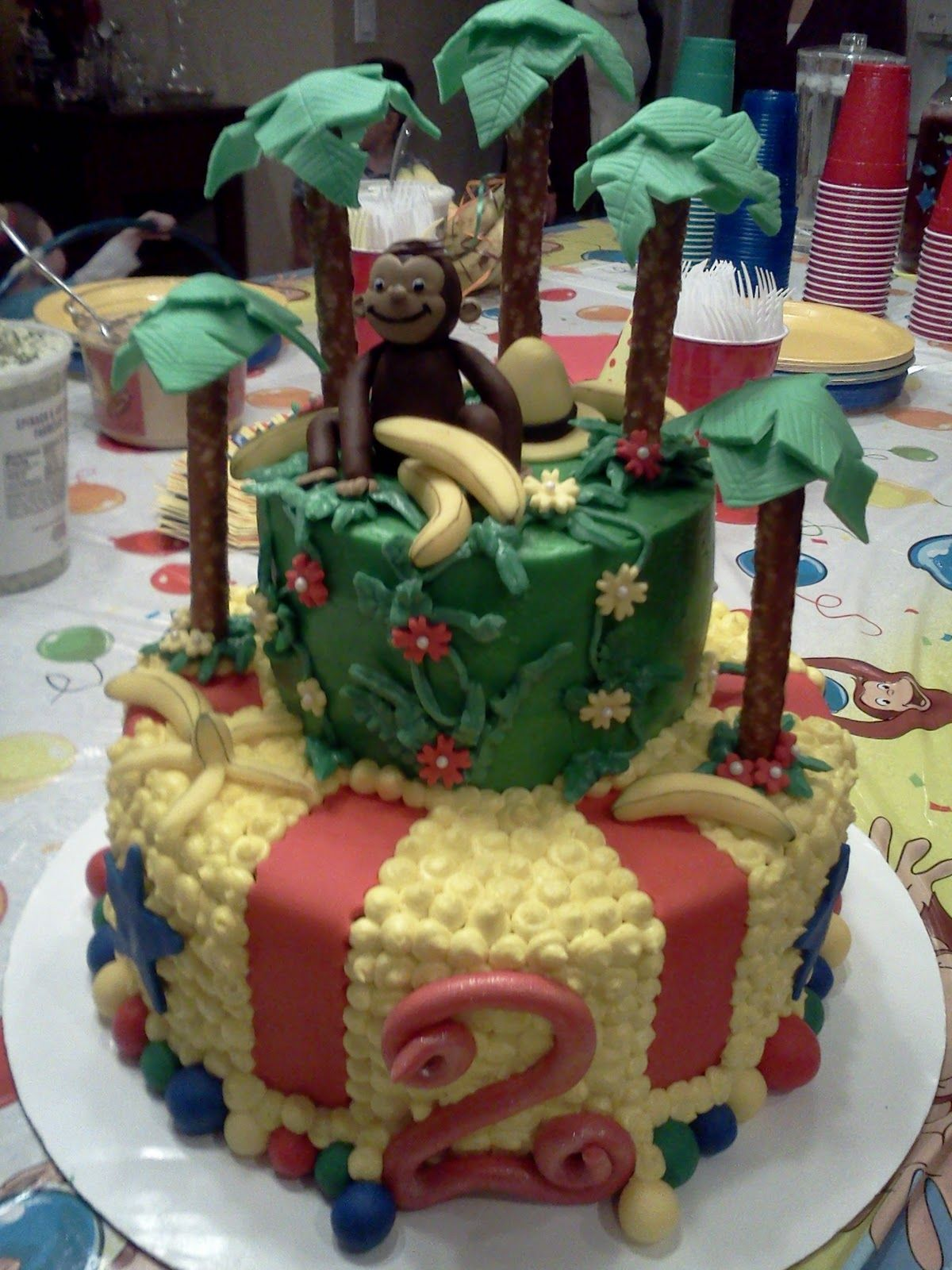 Lindys Bayside Confections Curious George Cake Kids Stuff