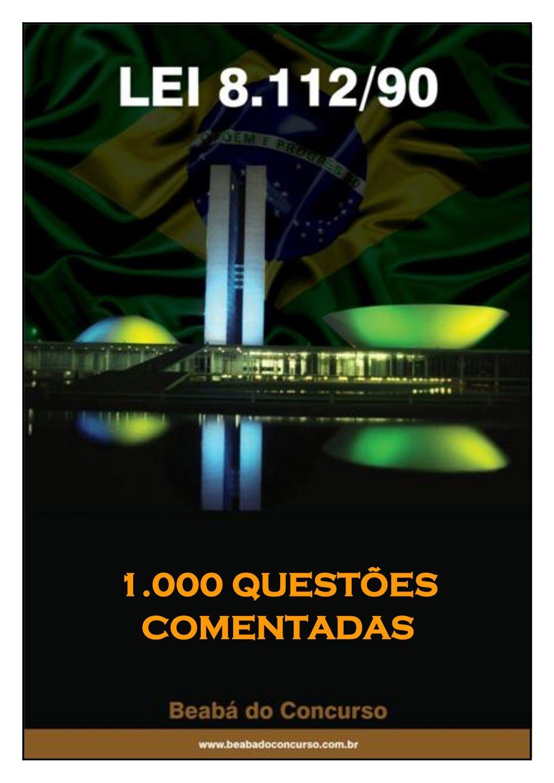 1 000 Questoes Comentadas 1 Concurso Inss Questoes De Concurso