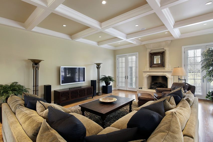67 luxury living room design ideas sectional couches beam
