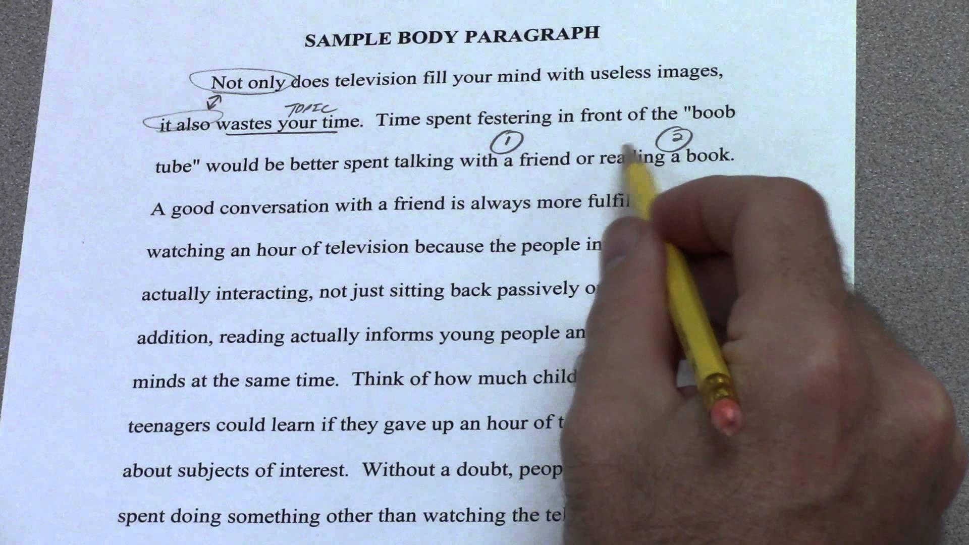 6 paragraph argument essay