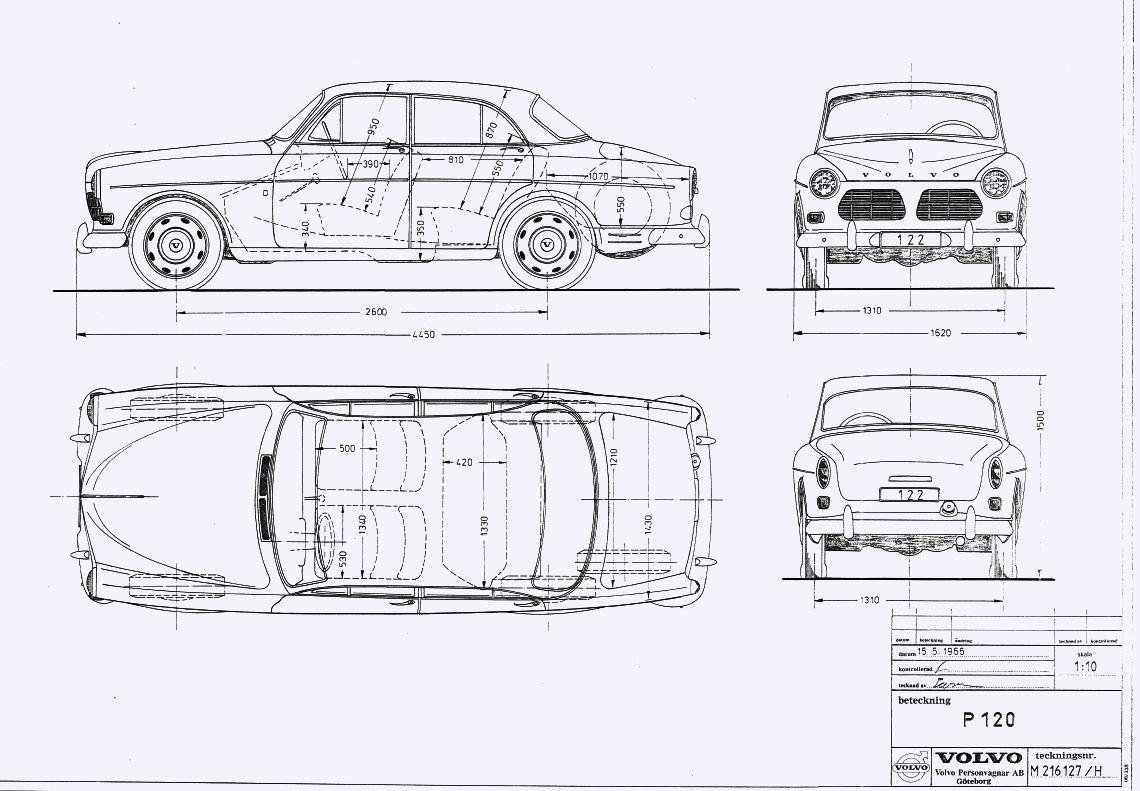 Bildergebnis Fur Volvo 123 Gt Blueprint