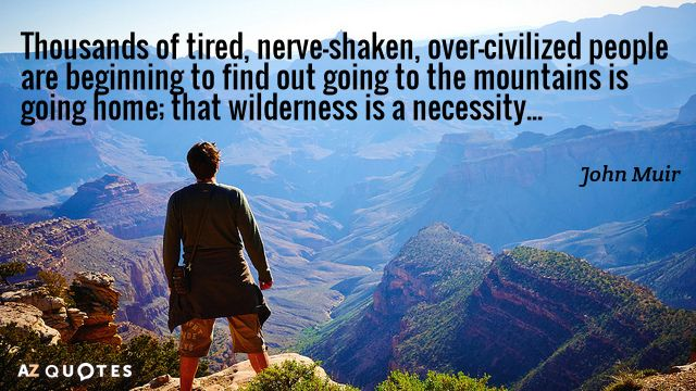 John Muir Quote Thousands Of Tired Nerve Shaken Over