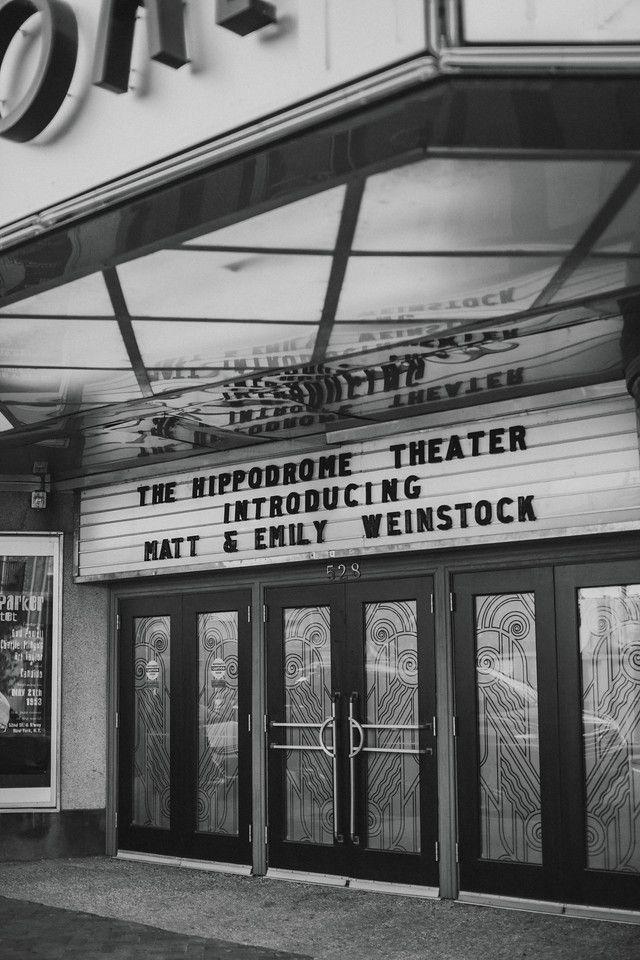 Emily Matt Hippodrome Theater Wedding Richmond Va Chelsea Diane Photography