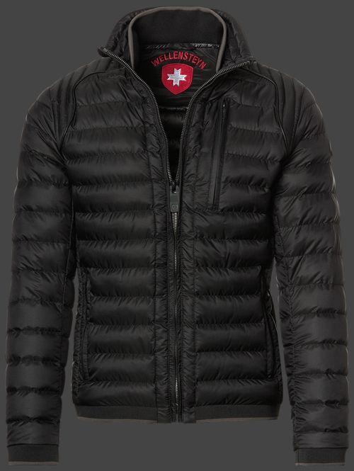 Wellensteyn Molecule Men Doriblatec Schwarz Jacken Mannliche Mode Und Sportjacke Herren