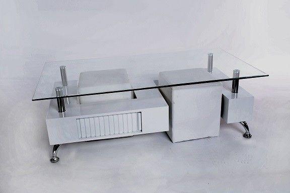 MESA DE CENTRO CON POUFS AMBER en Conforama Hogar Pinterest - Conforama Tables De Cuisine