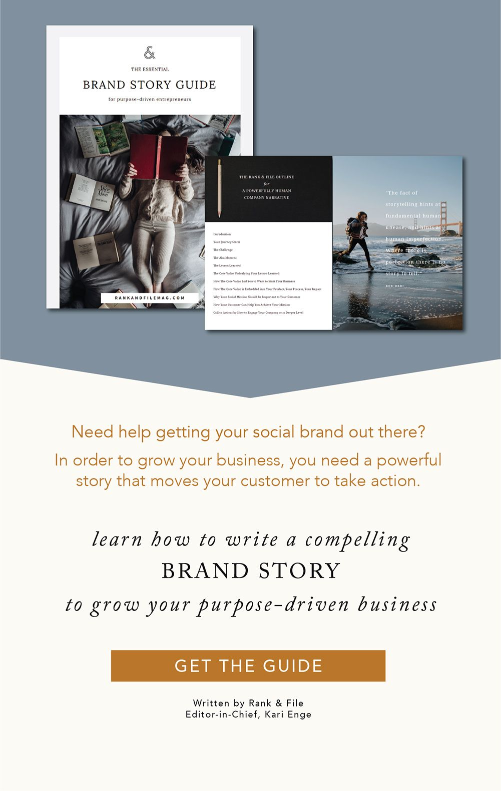 Essential Brand Story Guide for PurposeDriven