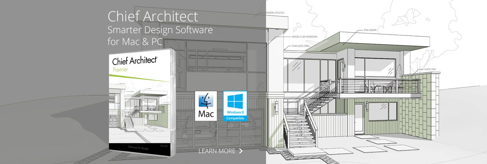 Chief architect professional 3d architectural home for Easy architectural software