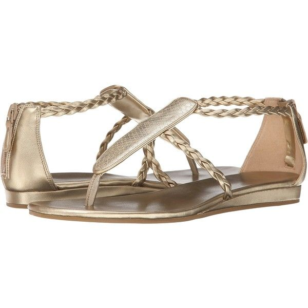 Womens Sandals Cole Haan Abbe Sandal Soft Gold/Snake Print