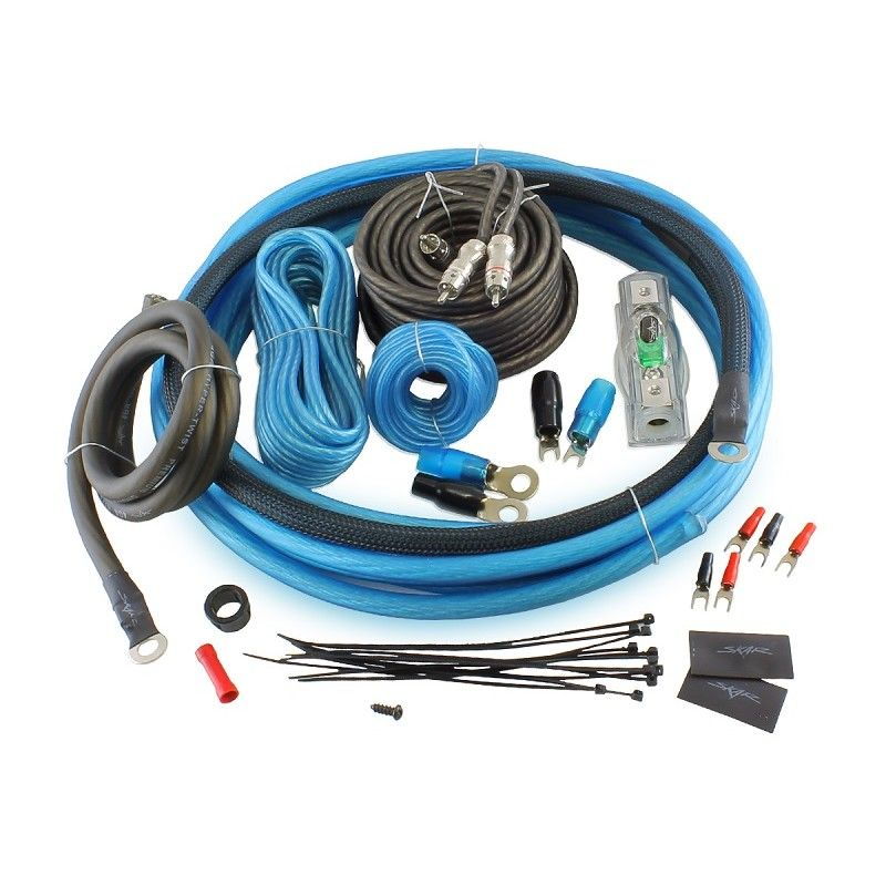 Skar Audio 4 Gauge Amplifier Wiring Kit (SK-AMP4) | Car Audio ...