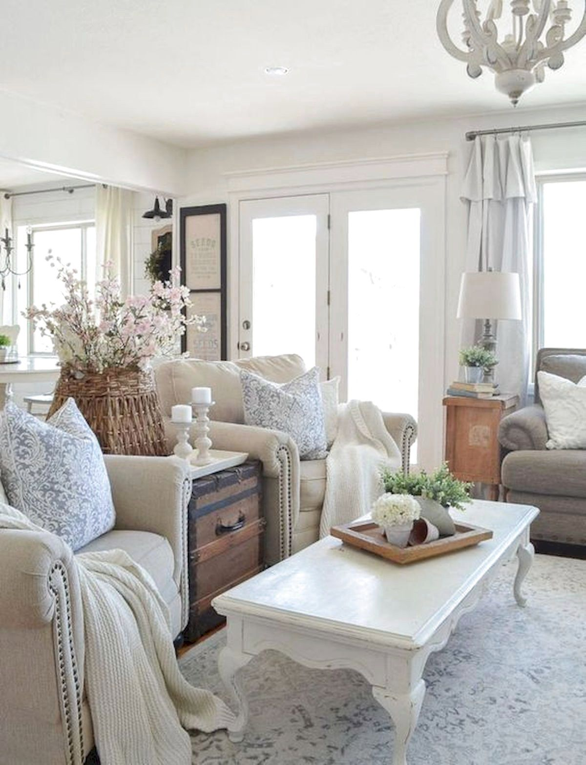 70 Favourite Farmhouse Living Room Decor Ideas Chic Living