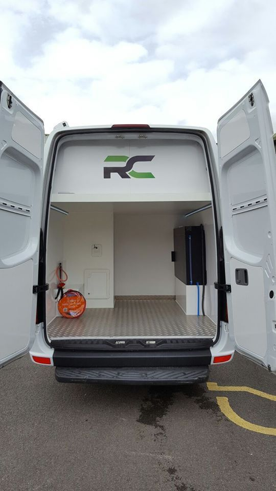 Mercedes Sprinter Lwb Motor Home Race Van Conversion Combined
