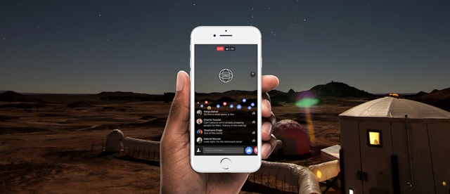 Facebook Lanzará Videos En Vivo De 360 Grados La Red Social Busca Impulsar La Contribución De Videos Inmersivos A S Videos Software Casco De Realidad Virtual