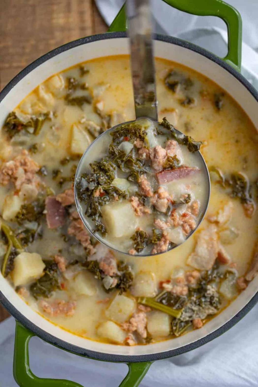 Olive Garden Zuppa Toscana Soup is a fan favorite hearty