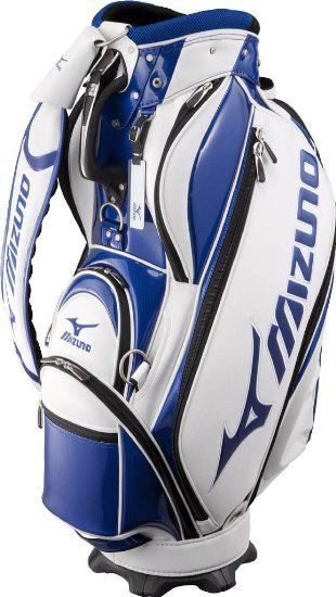 ec095e1ea746 Amazon.com: Mizuno Golf Japan Cart Caddy Bag 2011 Tour Style (White/Blue)  JAPAN: Sports & Outdoors