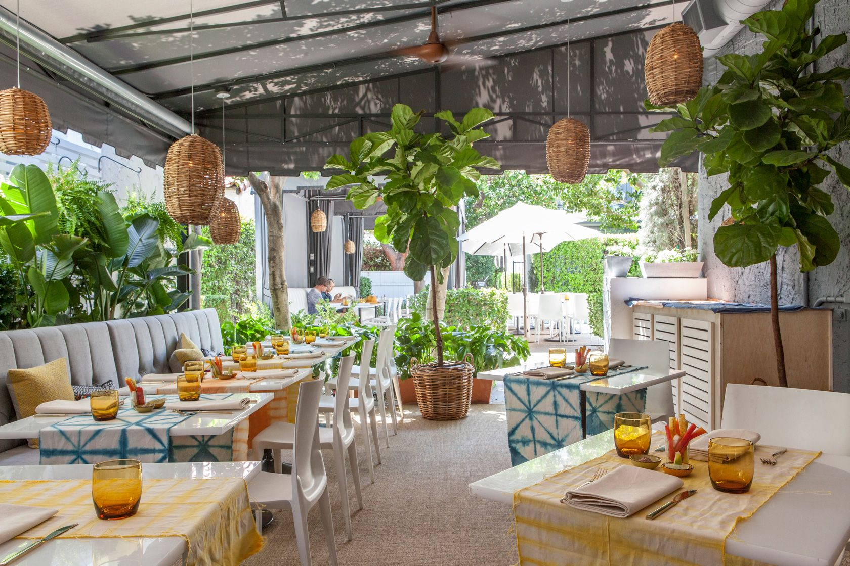 eat and relax at the new chi chi restaurant at avalon palm springs